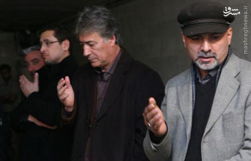 ناصر حجازی در عزادارای محرم (عکس)