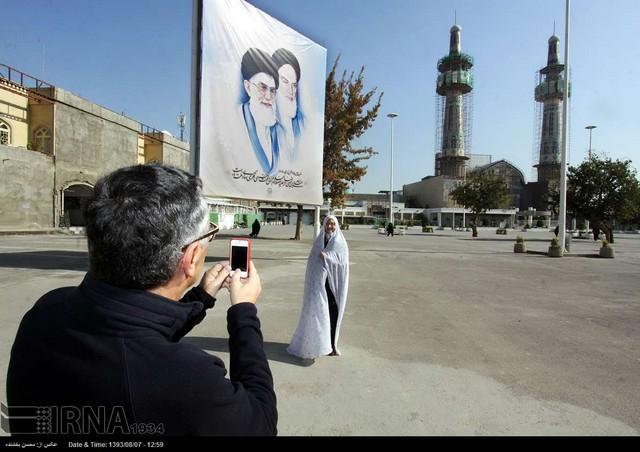 عکس گردشگران خارجی در ایران