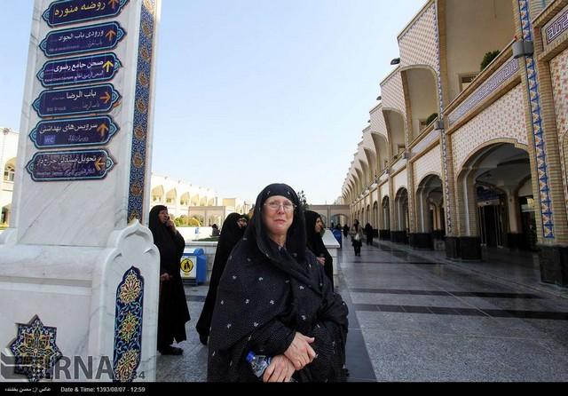 عکس+گردشگران+خارجی+در+ایران