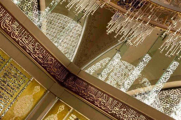 مسجدی با طراحی یک زن(+عکس)