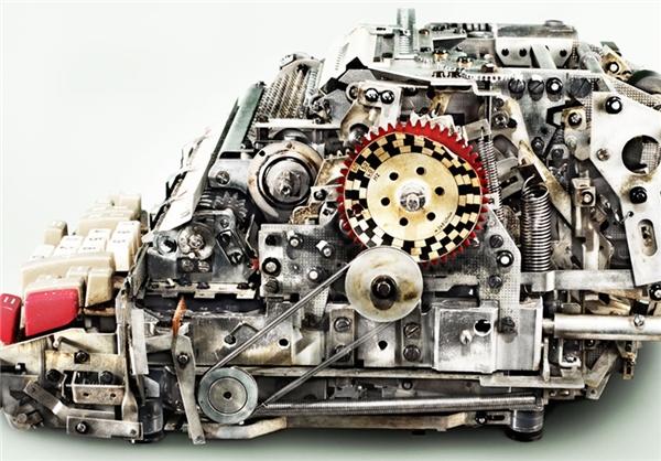 مکانیسم پیچیده ماشین آلات قدیمی+تصاویر - عصر دانش