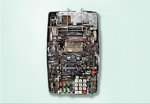 مکانیسم پیچیده ماشین آلات قدیمی+تصاویر