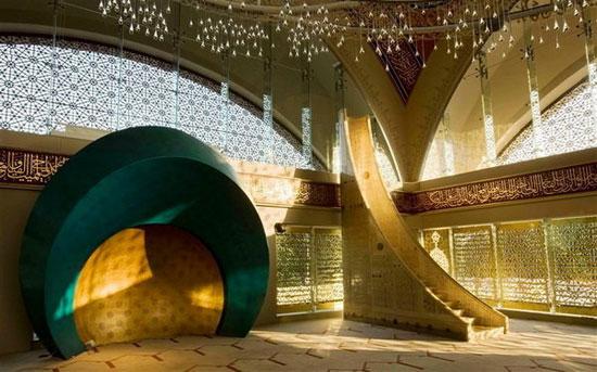 مسجدی زیبا با طراحی یک زن (+عکس)