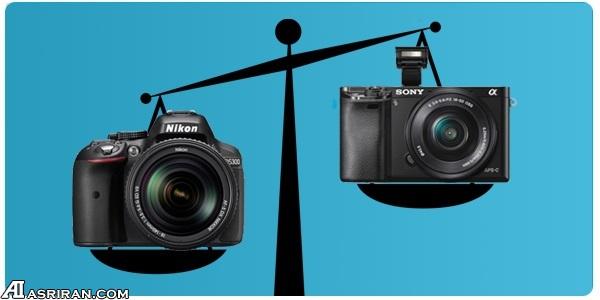 بدون آینه یا DSLR: کدام دوربین برای شما مناسبتر است؟ - عصر دانش