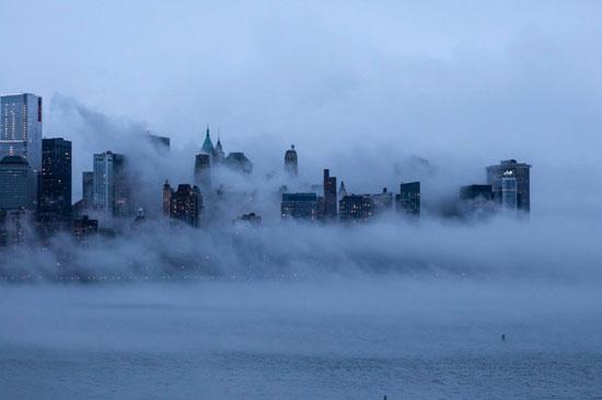 در پس پردهای از جنس مه (+عکس)