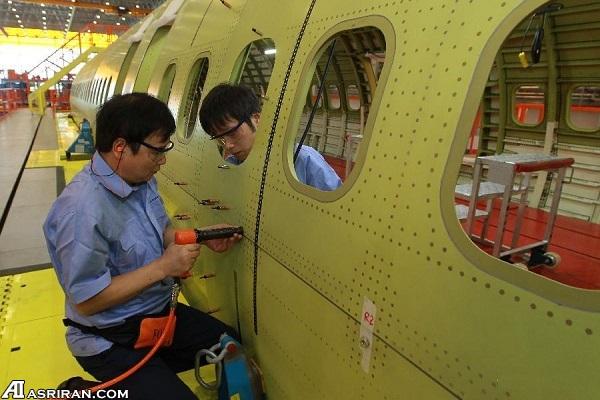 تولید جت مسافربری C919 شانگهای