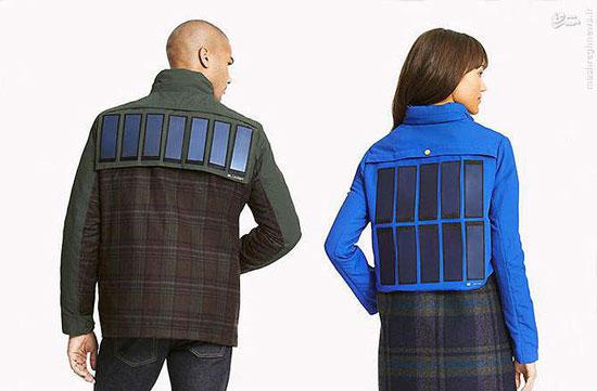 با این ژاکت گوشی خود را شارژ کنید (+عکس)