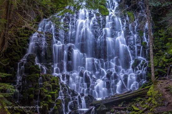 آبشار رویایی رامونا در آمریکا (+عکس)