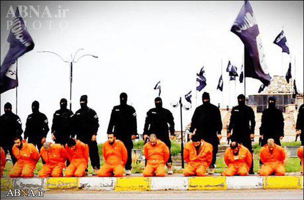 عکس اعدام داعش جنایات داعش