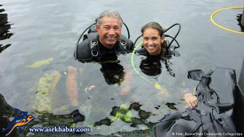 رکورد زندگی ۷۳ روزه یک زوج در زیر آب (+عکس)