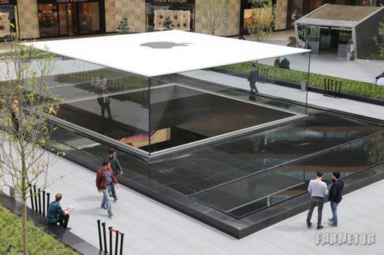 فروشگاه اپل، شاهکار معماری 2014 (+عکس)