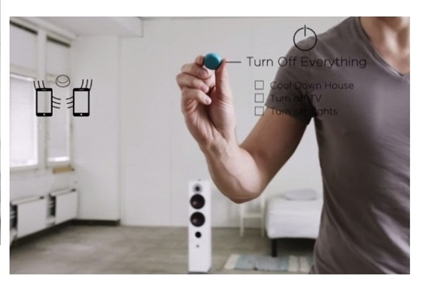 دکمه بیسیم برای هدایت تلفن همراه+تصاویر