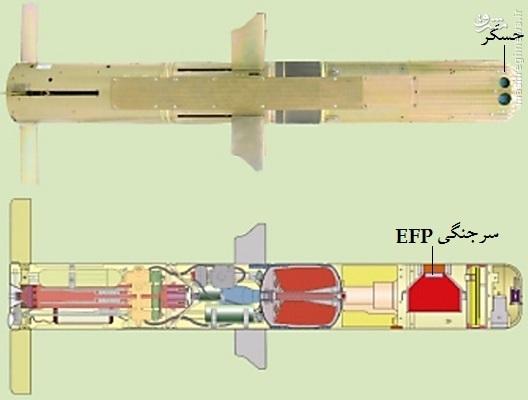 «توفان 3» مرگبارترین موشک ضدزره ایرانی با سرجنگی ویژه (+عکس)