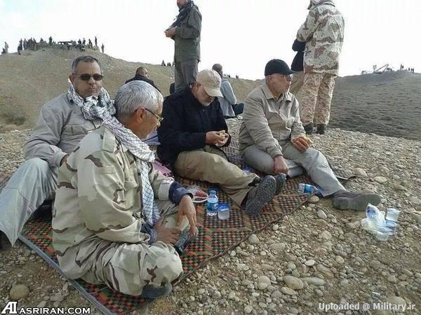 دو عکس جدید از سردار سلیمانی در عراق