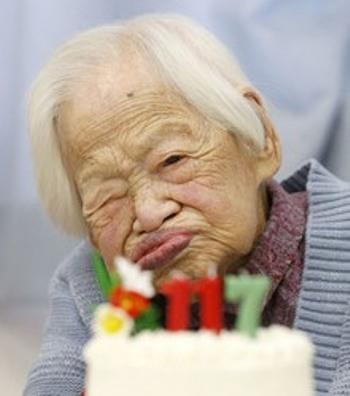 پیرترین انسان زمین مرد