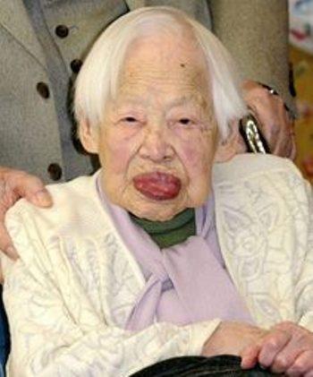 پیرترین انسان زمین مرد (+عکس)