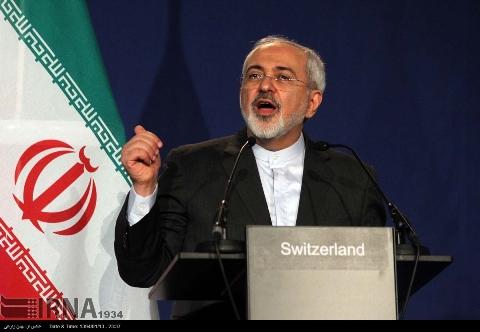 سخنان ظریف در پاسخ به سوالات خبرنگاران