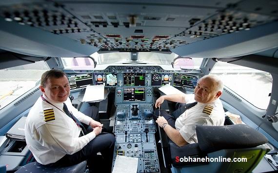 یک ایرانی اولین خلبان مدرنترین هواپیمای مسافربری جهان شد (+عکس)