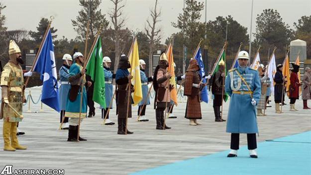 استقبال از اردوغان با اسب (عکس)