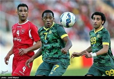 تیم عربستانی با لباس نظامی به آزادی آمده بود!(عکس)