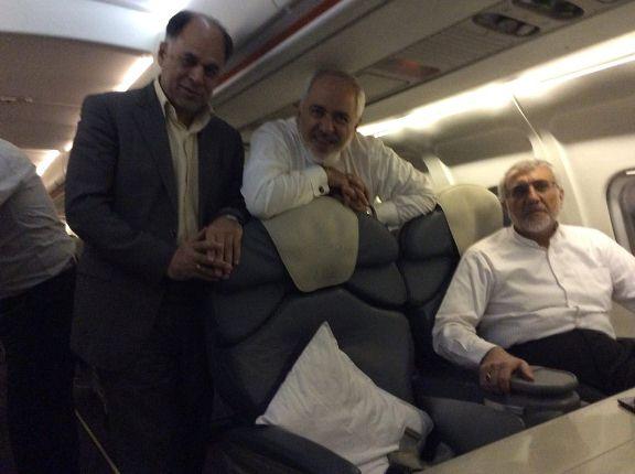 گزارش فیس بوکی استاندار سیستان وبلوچستان از همسفری با ظریف (+عکس)