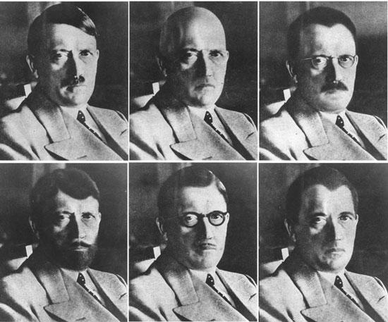 فتوشاپ عکس هیتلر در 71 سال پیش (+عکس)