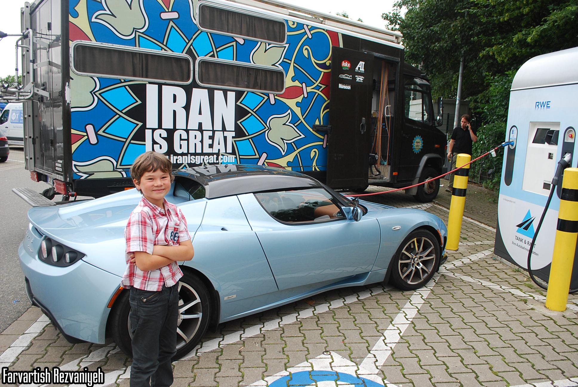 کریستین ایوان و تبلیغ ایران واقعی در اروپا