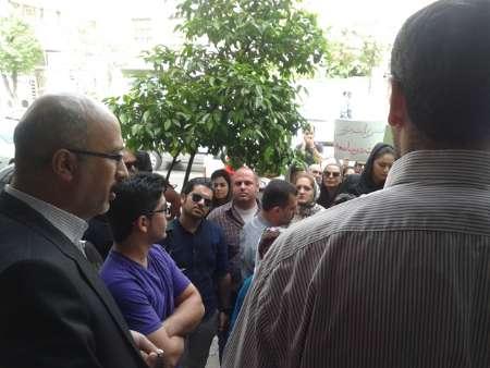 تجمع علیه سگ کشی در شیراز