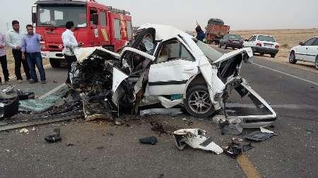 تصادف در بندرریگ 5 کشته برجای گذاشت