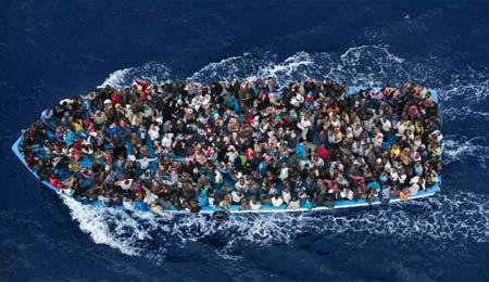 واژگونی قایق با 700 کشته در سواحل لیبی