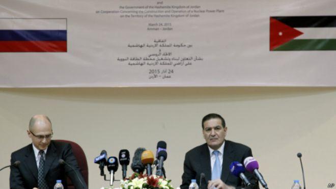 روسیه برای اردن نیروگاه هستهای میسازد