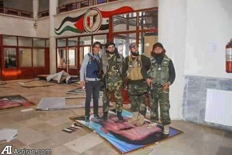 شهر ادلب سوریه سقوط کرد
