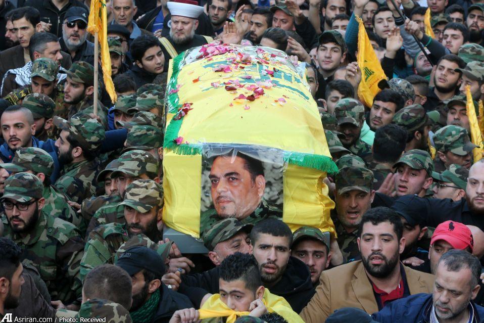 تشییع جنازه سمیر قنطار (عکس)