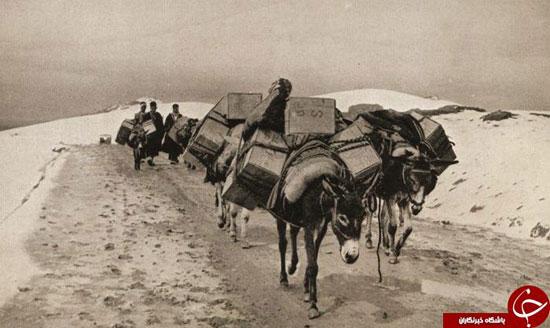 جاده های ایران در قدیم (عکس)