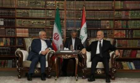 دیدار وزیر خارجه عراق با ظریف