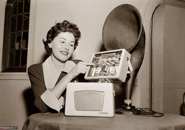 اولین نسل رادیوهای ترانزیستوری (+عکس)