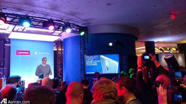 لنوو نخستین تلفن همراه پروژه تانگو گوگل را تولید می کند