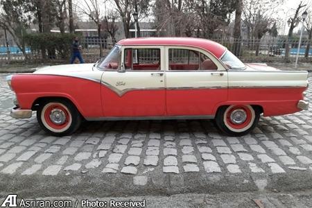 فروش یکی از خودروهای سریال های تاریخی / فورد61 ساله قباد سریال شهرزاد در معرض فروش (+عکس)