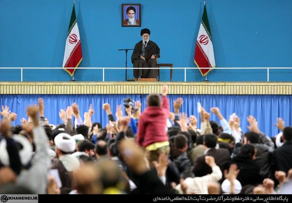 رهبرانقلاب: همه شرکت کنند حتی کسانیکه نظام را قبول ندارند / ممکن است کسی بنده را قبول نداشته باشد،انتخابات مال رهبری نیست مال ایران اسلامی وجمهوری اسلامی است