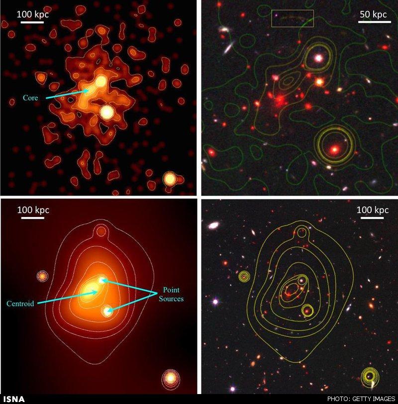 کشف بزرگترین خوشه کهکشانی تا کنون