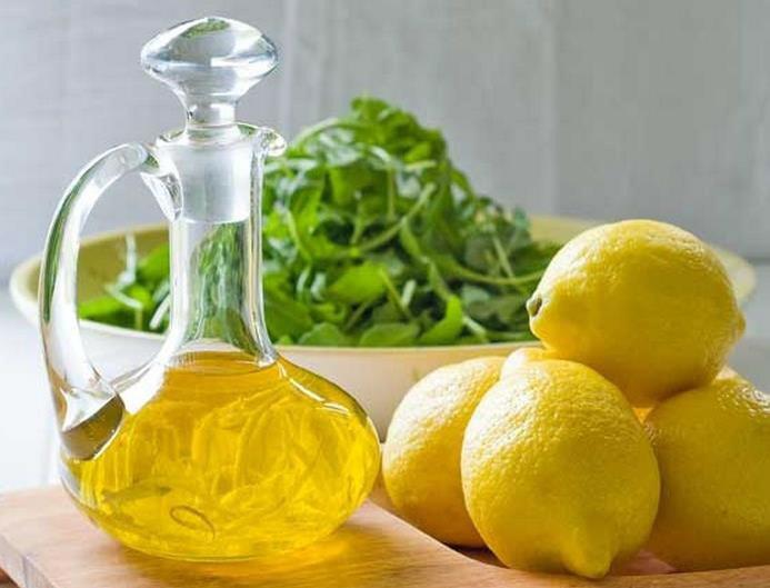 فواید شگفت انگیز ترکیب روغن زیتون و لیمو ترش