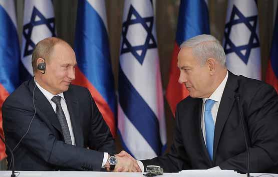تماس تلفنی نتانیاهو و پوتین 2 روز بعد از حمله هوایی اسرائیل به سوریه / توافق برای مبارزه با تروریسم