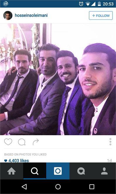 جنجالی: همدست ضیا در عروسی حاج محمدی!