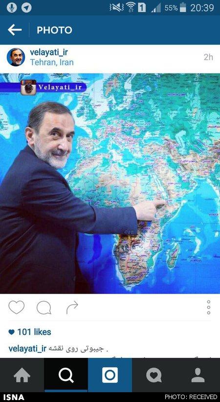 ولایتی جیبوتی را روی نقشه پیدا کرد (+ عکس)