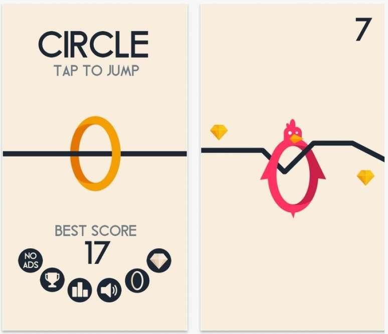 با Circle زمان را بکشید