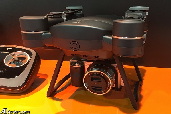 دوربینهای DSLR نیز به پرواز در می آیند