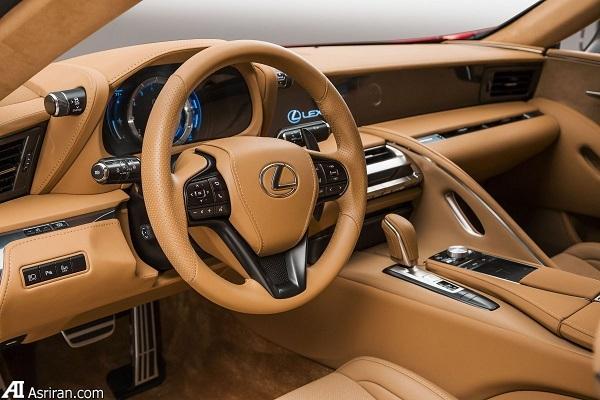لکسس LC 500؛ مدعی جدید در بازار خودروهای لوکس