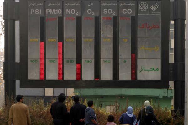 کمبود ایستگاه سنجش آلودگی هوا در نیشابور