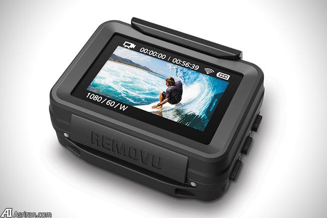 کنترل از راه دور دوربین گو پرو با REMOVU P1