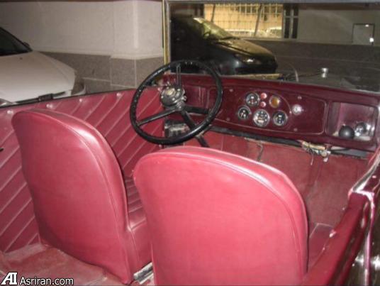 خودروی بسیار خاص 87 ساله در ایران (+عکس)